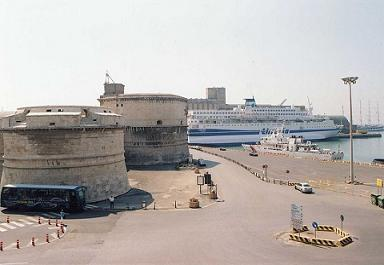 cruise port Civitavecchia