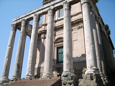 Temple of Antoninus and Faustina,